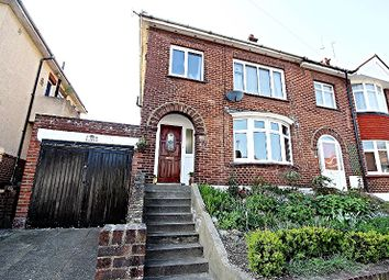 Thumbnail 4 bed end terrace house for sale in Boundary Road, Chatham