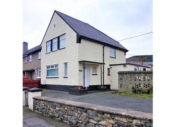 Thumbnail 3 bed terraced house for sale in Glanffrydlas, Bangor