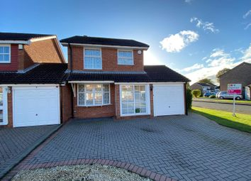 Thumbnail 3 bed detached house to rent in Hall Dale Close, Hall Green, Birmingham
