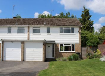 Thumbnail 3 bed semi-detached house for sale in Lovell Close, South Wonston, Winchester