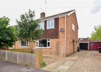 Thumbnail 3 bed semi-detached house for sale in Swallowfield, Willesborough, Ashford, Kent