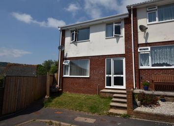 Thumbnail 3 bedroom end terrace house for sale in Grenville Avenue, Teignmouth, Devon
