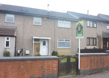 Thumbnail 3 bed terraced house to rent in Steadfold Close, Bulwell, Nottingham