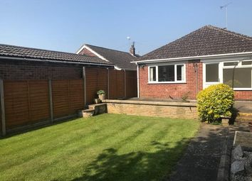 Thumbnail 2 bed bungalow to rent in Arnolds Crescent, Newbold Verdon, Leicester