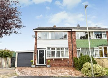 Thumbnail 3 bed semi-detached house to rent in Drinkfield Crescent, Darlington