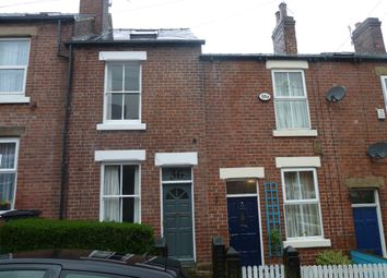 Thumbnail 3 bed terraced house to rent in Ashford Road, Sheffield