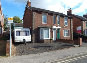 Thumbnail 3 bed semi-detached house for sale in Warwick Road, Ipswich