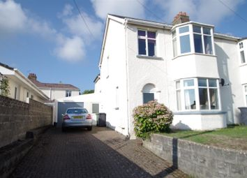 Thumbnail 3 bedroom semi-detached house for sale in Saunton Road, Braunton