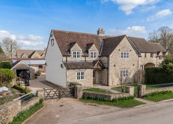 Thumbnail 5 bedroom detached house for sale in The Green, Luckington, Chippenham
