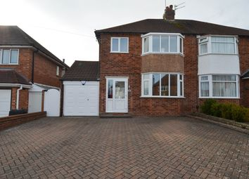 Thumbnail 3 bed semi-detached house for sale in Simon Road, Hollywood, Birmingham