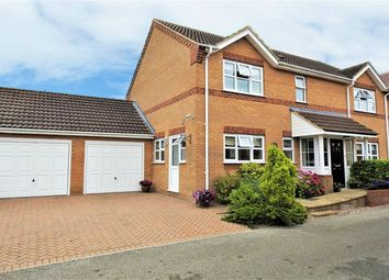 Thumbnail 4 bed detached house for sale in Manor Farm Gardens, Hilgay, Downham Market
