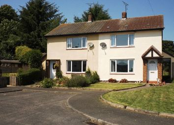 Thumbnail 2 bed semi-detached house for sale in Drummonds Close, Longhorsley, Morpeth