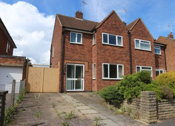 Thumbnail 3 bed semi-detached house for sale in The Drive, Scraptoft