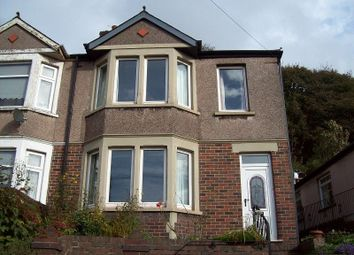 Thumbnail 3 bedroom semi-detached house for sale in Gwar Y Caeau, Port Talbot, .