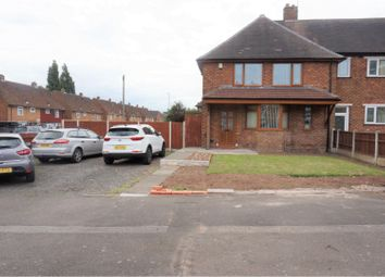 Thumbnail 3 bed end terrace house for sale in Archer Road, Walsall