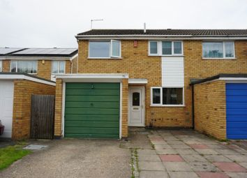 Thumbnail 3 bed semi-detached house for sale in Milton Crescent, Leicester