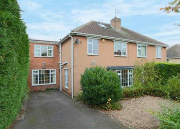 Thumbnail 4 bed semi-detached house for sale in Campbell Drive, Carlton, Nottingham