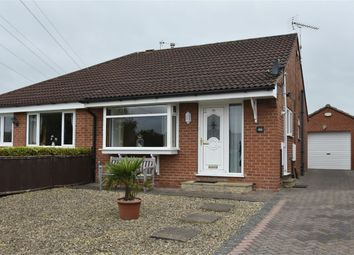 Thumbnail 2 bed semi-detached bungalow for sale in Fitzjohn Close, Malton