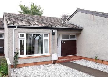 Thumbnail 1 bedroom terraced bungalow for sale in Broomhill Court, Monifieth
