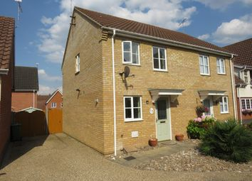 Thumbnail 2 bed property to rent in Pennycress Drive, Thetford