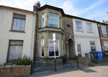 Thumbnail 3 bedroom terraced house for sale in Stanley Street, Lowestoft