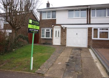 Thumbnail 3 bedroom semi-detached house to rent in Pennyfields, Brentwood