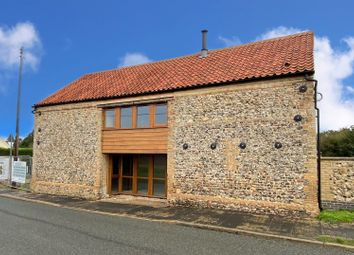 Thumbnail 4 bed barn conversion for sale in White Hart Street, Foulden, Thetford