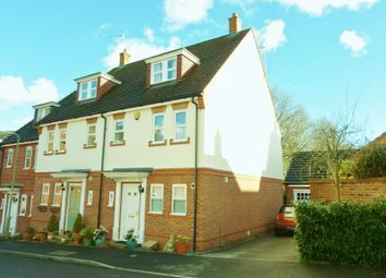 Thumbnail 4 bedroom town house for sale in Blythe Close, Enham Alamein, Andover