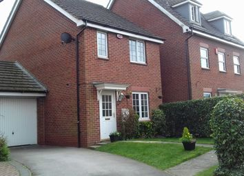 Thumbnail 3 bed detached house for sale in Hollybush Close, Whitley, Goole