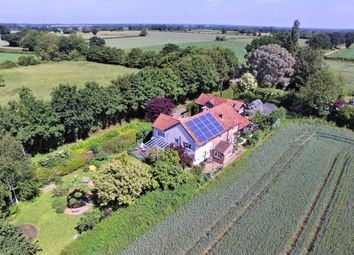Thumbnail 5 bed detached house for sale in Mattishall Road, Garvestone, Norwich