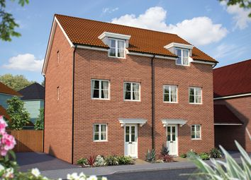 "Thumbnail 3 bed semi-detached house for sale in ""The Winchcombe"" at Dragonfly Lane, Cringleford, Norwich"