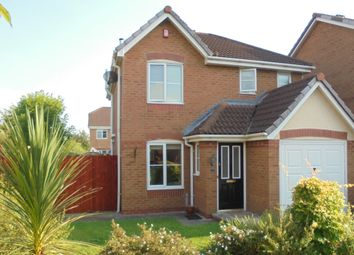 Thumbnail 3 bed detached house for sale in Levengreave Close, Hindley Green, Wigan