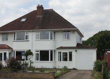 Thumbnail 3 bed semi-detached house for sale in Slater Road, Bentley Heath, Solihull