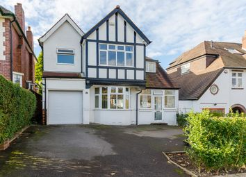 Thumbnail 4 bedroom detached house for sale in Ellesboro Road, Harborne, Edgbaston