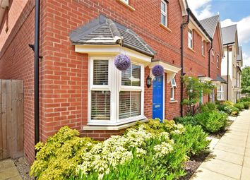 Thumbnail 3 bed terraced house for sale in Vincent Gardens, Dorking, Surrey