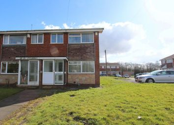 Thumbnail 3 bed terraced house to rent in Ashfield Close, Walsall