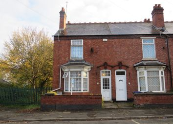 Thumbnail 2 bedroom end terrace house for sale in Whitehall Road, West Bromwich