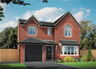 Thumbnail 4 bed detached house for sale in Bank Lane, Kirkby