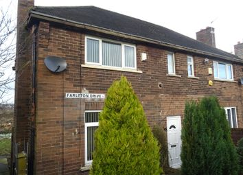 Thumbnail 2 bedroom semi-detached house for sale in Farleton Drive, Bradford, West Yorkshire