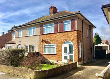 Thumbnail 3 bed semi-detached house for sale in Hughenden Gardens, Northolt