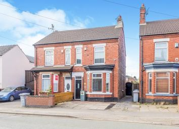 Thumbnail 3 bedroom semi-detached house for sale in North Street, Crewe, Cheshire