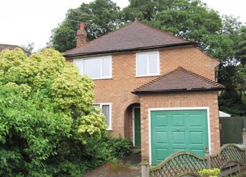 Thumbnail 3 bed detached house for sale in Portway Close, Shirley, Solihull