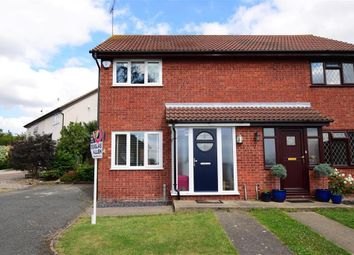 Thumbnail 2 bed semi-detached house for sale in Beazley End, Wickford, Essex