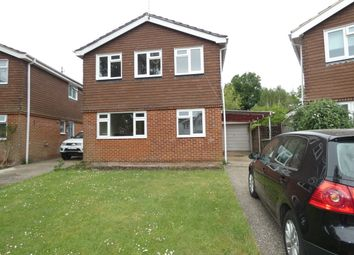 Thumbnail 4 bed detached house to rent in Kelsey Close, Liss