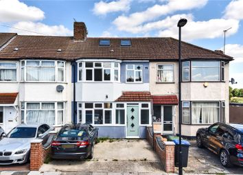 Thumbnail 4 bed terraced house for sale in Rayleigh Road, Palmers Green, London