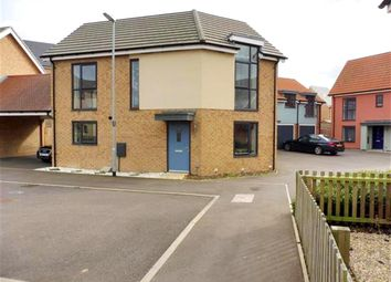 Thumbnail 3 bed link-detached house for sale in Westland Close, Upper Cambourne, Cambridge