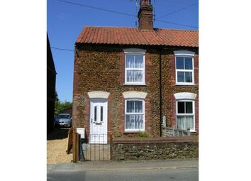 Thumbnail 2 bed cottage to rent in Station Road, Snettisham, King's Lynn