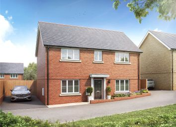 Thumbnail 4 bed detached house for sale in Redbank, Bury Water Lane, Newport, Essex
