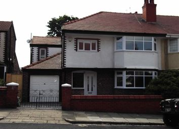 Thumbnail 4 bedroom semi-detached house to rent in Stoneby Drive, Wallasey, Wirral