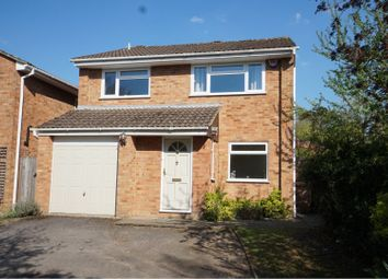 Thumbnail 4 bed detached house for sale in Nuffield Drive, Sandhurst